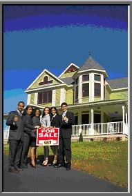 Ebook cover: Real Estate Postcard