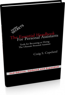 Ebook cover: The Personal Assistants Handbook