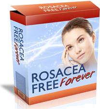 Ebook cover: Rosacea Free Forever