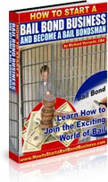 Ebook cover: How to Start A Bail Bond Business And Become A Bail Bondsman