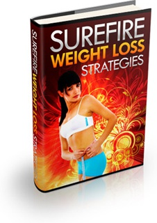 Ebook cover: Sure Fire Weight Loss Strategies