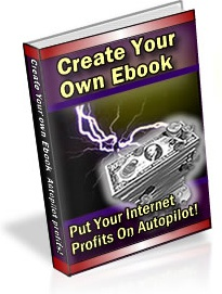 Ebook cover: Create your own ebook