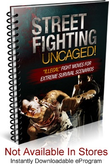 Ebook cover: Street Fighting Uncaged