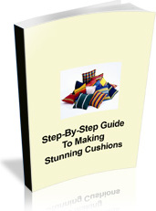 Ebook cover: How To Make Cushions