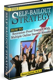 Ebook cover: The Self-Bailout Strategy