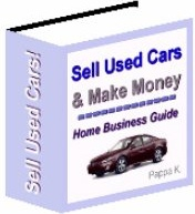Ebook cover: Sell Used Cars & Make Money