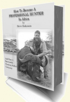 Ebook cover: How To Become A Professional Hunter In Africa