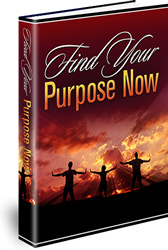 Ebook cover: Find Your Purpose Now