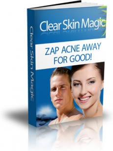Ebook cover: Clear Skin Magic: Zap Acne Away for Good!