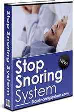 Ebook cover: Stop Snoring System