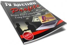 Ebook cover: JV Auction Profits