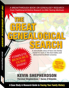 Ebook cover: The Great Genealogical Search