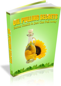 Ebook cover: Oil Pulling Secrets