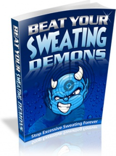 Ebook cover: Beat Your Sweating Demons