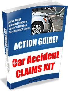 Ebook cover: The Car Accident Claims Kit