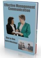 Ebook cover: Effective Management - Communication