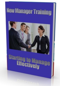 Ebook cover: New Manager Training