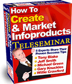 Ebook cover: How To Create & Market Hot Selling Infoproducts
