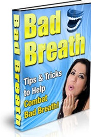 Ebook cover: Tips & Tricks to Help Combat Bad Breath