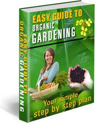 Ebook cover: Easy Organic Gardening