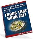 Ebook cover: Foods That Burn Fat