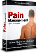Ebook cover: Pain Management Guide Tips and Techniques