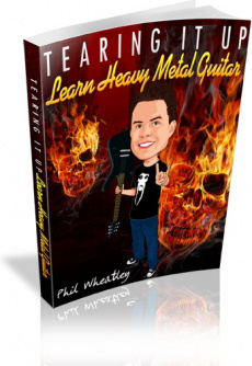 Ebook cover: Tearing It Up - Learn Heavy Metal Guitar