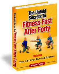 Ebook cover: The Untold Secret To Fitness Fast After Forty