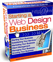 Ebook cover: Starting a Web Design Business