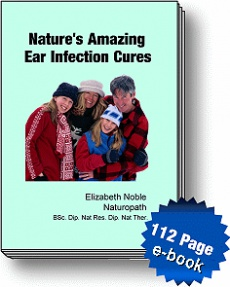 Ebook cover: Natures Amazing Ear Infection Cures