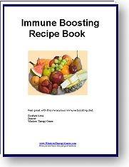 Ebook cover: The Immune Boosting Diet Recipe