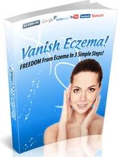 Ebook cover: Vanish Eczema! eBook Download