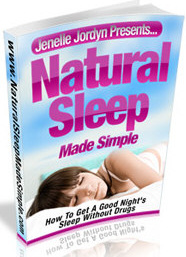 Ebook cover: Natural Sleep Made Simple