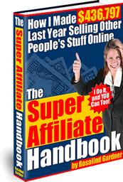 Ebook cover: The Super Affiliate Handbook