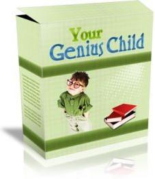 Ebook cover: Your Genius Child