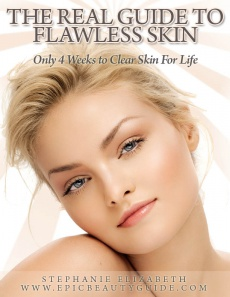 Ebook cover: The Real Guide to Flawless Skin : Only 4 Weeks to Clear Skin for Life