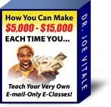 Ebook cover: How You Can Make $5000 - $15000 Each Time You Teach Your Own Email