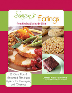 Ebook cover: Season's Eatings from Healing Cuisine by Elise
