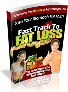 Ebook cover: Fast Track To Fat Loss