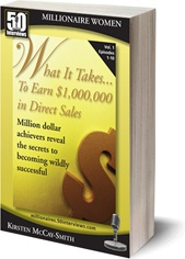 Ebook cover: What it Takes... To earn $1,000,000 in direct sales