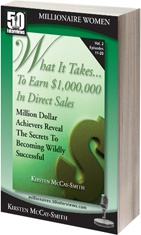 Ebook cover: What it Takes... To earn $1,000,000 in direct sales 2