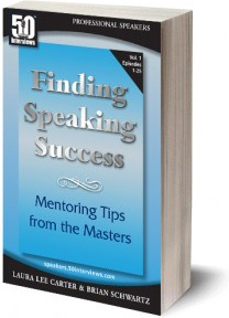 Ebook cover: Finding Speaking Success