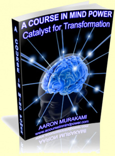 Ebook cover: A Course in Mind Power