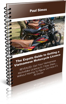 Ebook cover: An Expat's Guide To Getting A Vietnamese Motorbike Licence In 7 Easy Steps