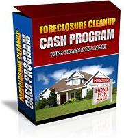 Ebook cover: Foreclosure Cleanup Cash Program