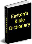 Ebook cover: Easton's Bible Dictionary
