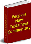 Ebook cover: The People's New Testament