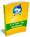 Ebook cover: 3 to 4 Year Old Workbooks