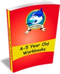 Ebook cover: 4 to 5 Year Old Workbooks