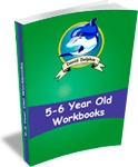Ebook cover: 5 to 6 Year Old Workbooks